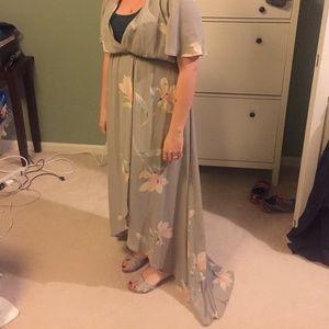 7e506e4d065 Show Me Your MuMu Dresses - SOPHIA WRAP DRESS ~ LILY SHOWERS Medium